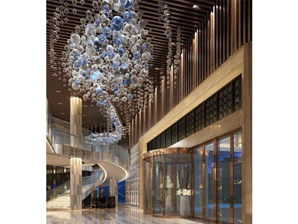不锈钢工程案例 上海某酒店