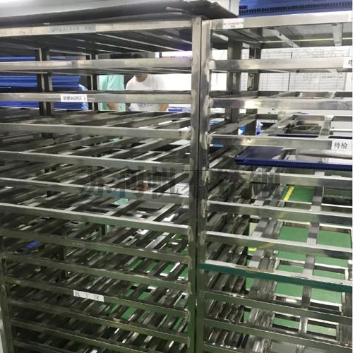 昆山城东电子厂定制的不锈钢工作架