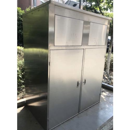 不锈钢垃圾箱